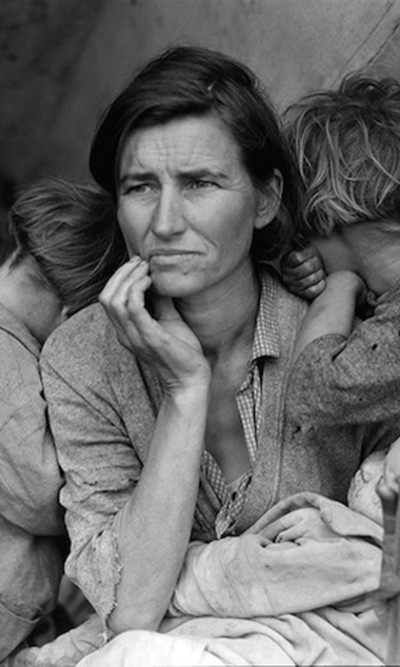 aq_block_1-Migrant Mother, Nipomo, California, 1936