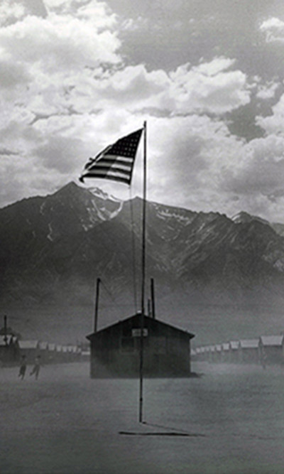 aq_block_1-Manzanar Relocation Camp, Manzanar, California, 1942