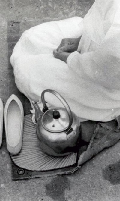 aq_block_1-Seated Woman with Teapot, Korea, 1958