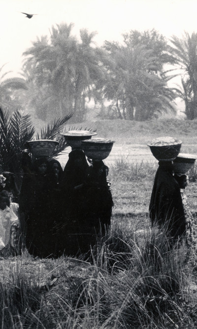 aq_block_1-Procession Bearing Food to the Dead, Egypt, 1963